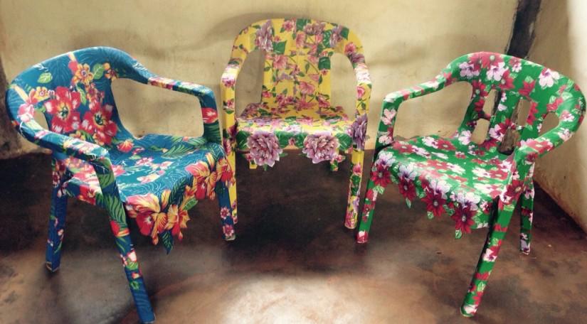 Sabe aquela cadeira velha? Pode ficarnovinha