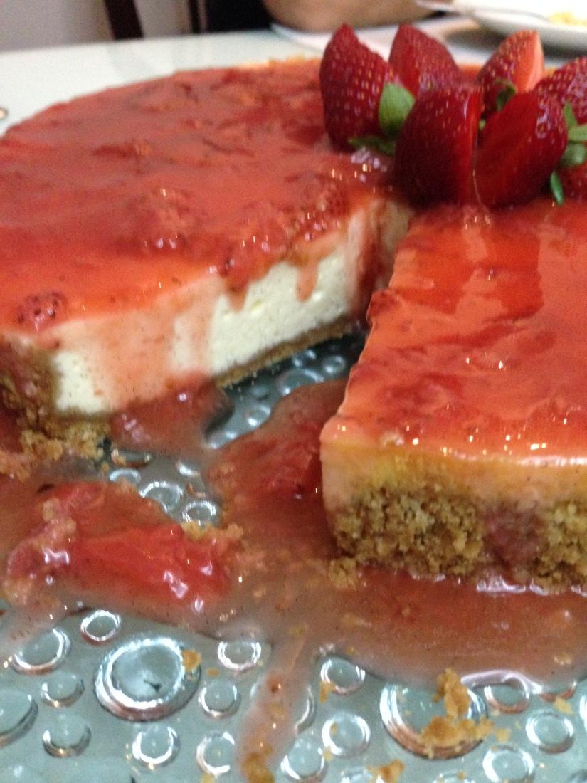 Cheesecake para adoçar seu final desemana