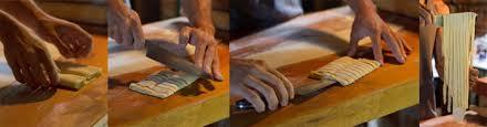 Fazendo massa na mão – tagliarini elasanha